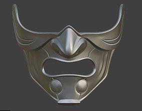 3D printable model Raiden Samurai mask from Mortal 4