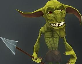 3D model Goblin Soldier Character