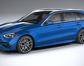 Mercedes-Benz C-Class Estate 2022 3D