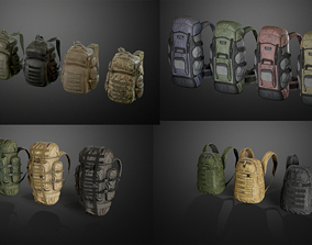 3D Backpack collection