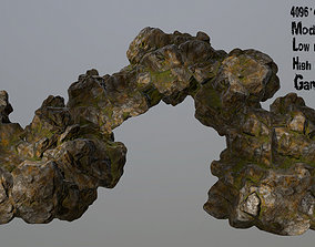 3D asset VR / AR ready gravel Rocks