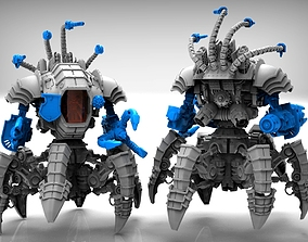 3D print model Dark Techno Arachknight legs