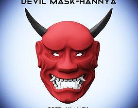 Devil Mask Hannya 3D print model
