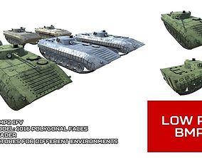 3D asset Low Poly BMP2 IFV