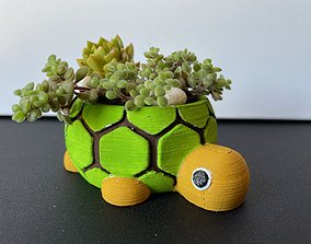 3D printable model Lonesome George - The Tortoise planter