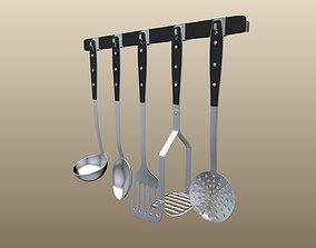 Kitchen Tool Set 3D model
