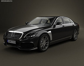 3D Mercedes-Benz S-Class Brabus 2014