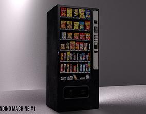 Snack Vending Machine 3D model