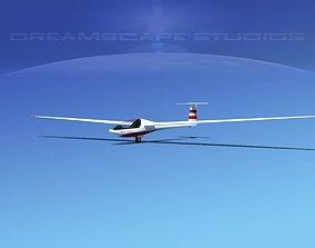 3D model Glaser Dirks DG200 15Mtr Sailplane V02