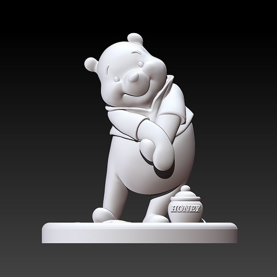 Winnie-the-Pooh statue