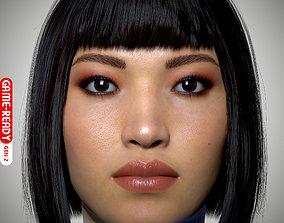 3D model Female Head - Iva - Gen2