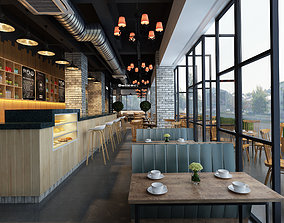 food 3D Model modern restaurant
