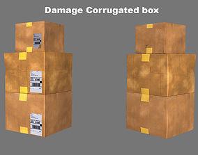 3D asset boxes Cardboard box