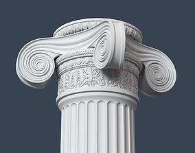 Ionic Column 002 3D