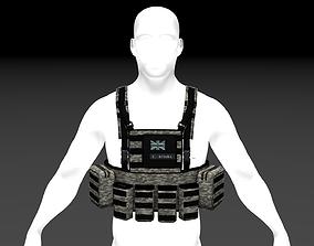 3D model Tactical Rig