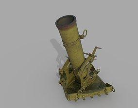 3D model 240-mm okopny minomyot 1915 goda