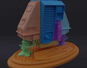 3D print model Silent Running Louie - Drone 3