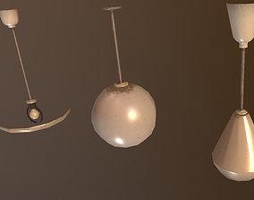 Lamps 3D asset