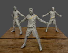 Cristiano Ronaldo Celebration 3D sculpture