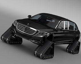 Mercedes Maybach Pullman Crawler 2016 3D model
