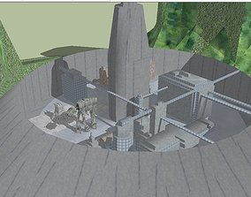 Star Wars - Galantos imperial garrison 3D model