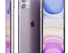 3D model Apple iPhone 11