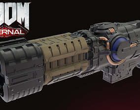 DOOM Eternal PlasmaGun demon 3D printable model