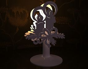 Candlestick - Christmas candles 3D printable model
