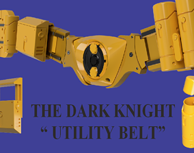 The Dark Knight Utility Belt 3D printable model