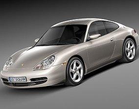 Porsche 911 996 Carrera 1997-2001 3D