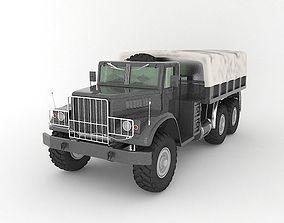 3D model truck military