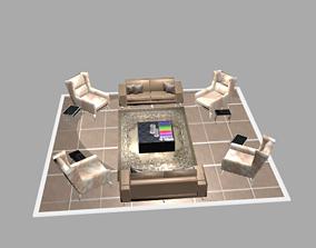 3D print model basic salon