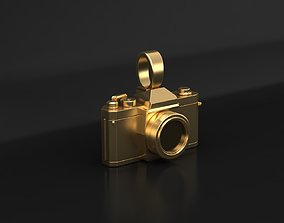 3D printable model technology Photo camera pendant