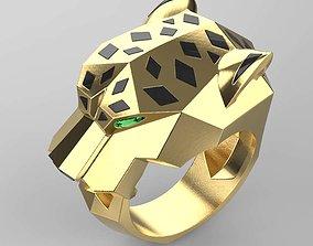 cat 3D print model ring female