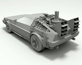 3D Delorean