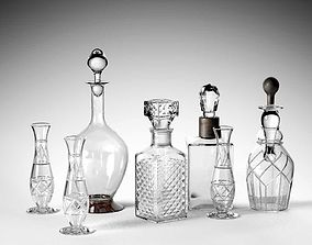 3D Crystal Drinking Set