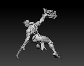 Street Fighter Vega 3D printable model