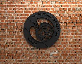 RC Strasbourg Alsace Logo 3D printable model