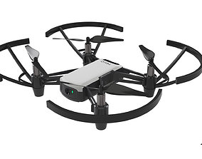 DJI Tello Drone 3D model realtime