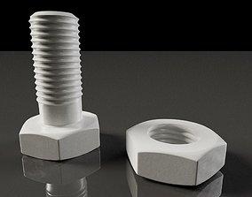 Model 3D of Screw for 3D Printing