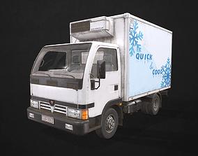 Light Truck Refrigerated 3D asset