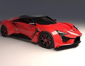 3D print model W Motors Fenyr Hyper Car