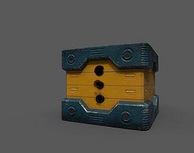 3D model Scifi Power Supplier Box
