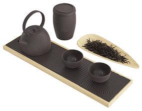 3D model Chinese Tea Ceremony Set