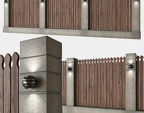 Fence loft 3D model