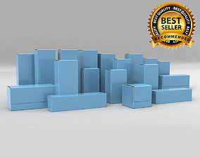 boxes 3D Package Box Collection