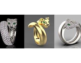 rings female 3D print model