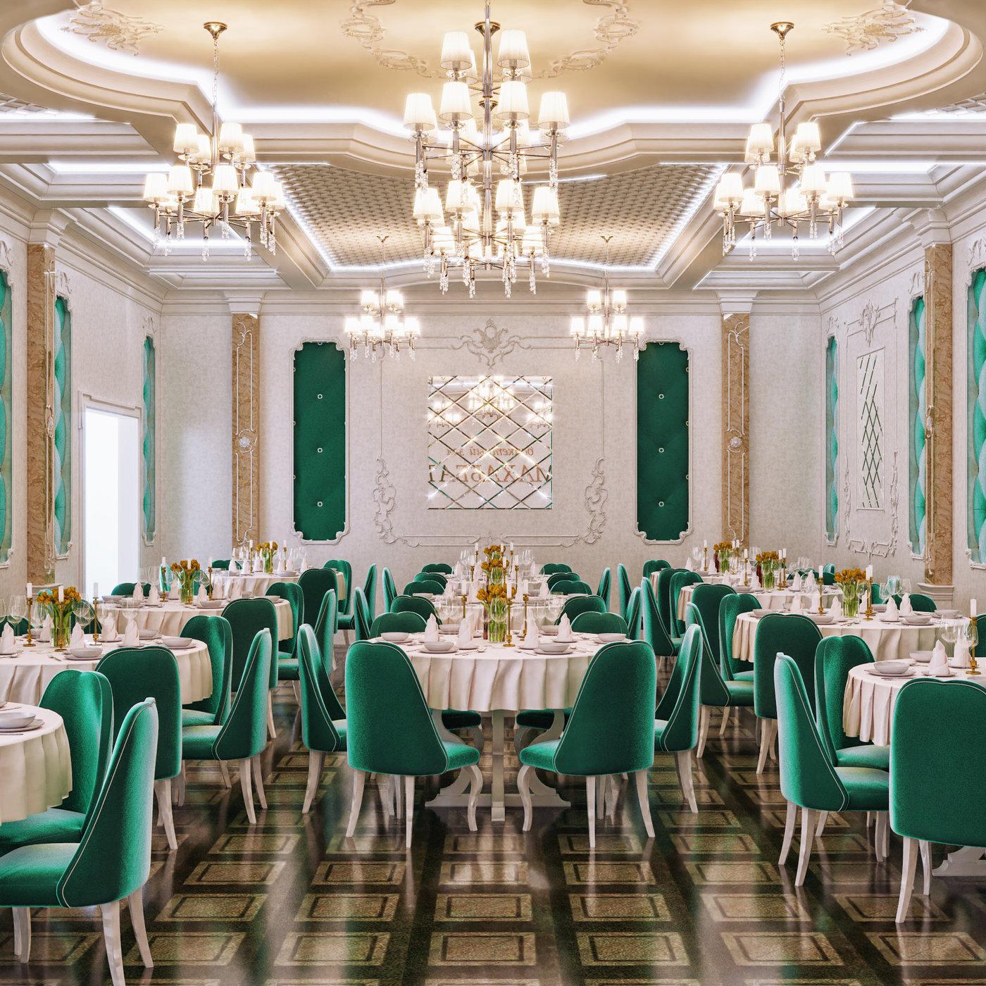 Luxury restaurant in Astana