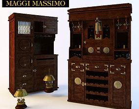 kitchen MAGGI MASSIMO Bars 3d Models