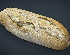 3D asset VR / AR ready Bread